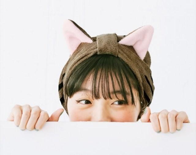 お風呂上りに猫になる!? フェリシモ猫部の「猫耳ターバン」は濡れた髪を素早くタオルドライする優れもの♪