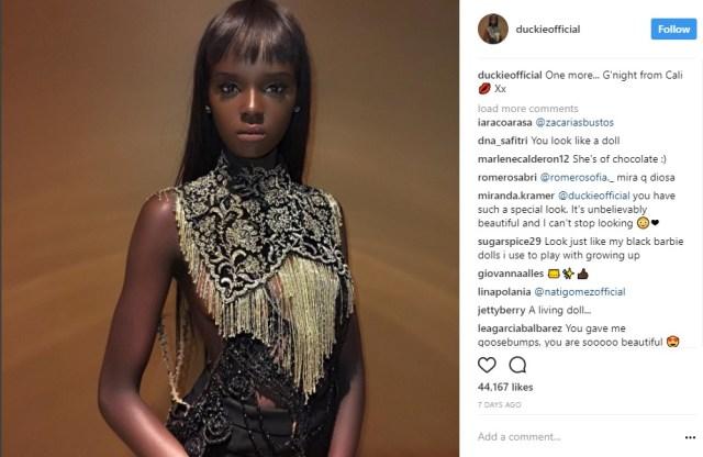 バービー人形にしか見えない黒人モデルが美しい…コンプレックスや差別との戦いからトップモデルに