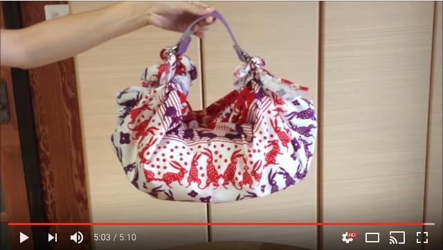 【浴衣にも◎】風呂敷やバンダナがあっという間にバッグに! 革の持ち手「ふろしきハンド」で作るオリジナルバッグ