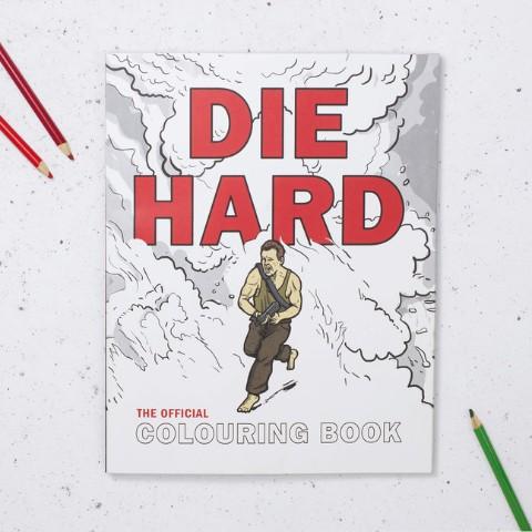 【誰得】映画『ダイ・ハード』のぬり絵が発売される! 死なない男・ジョンの名シーンや名言が続々出てくるみたいだよ~