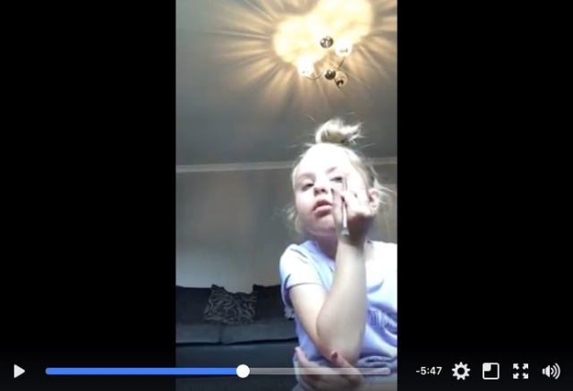 5歳の女の子が投稿したおしゃまなメイクチュートリアル動画に世界が胸キュン♡ 大人顔負けの表情と口調に注目です