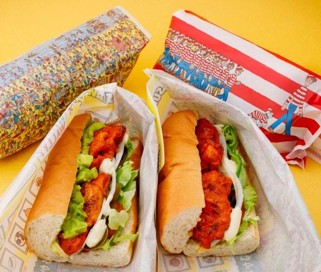 サブウェイが『ウォーリーをさがせ!』とコラボしてるよ / サンドイッチを包むラップにウォーリーや野菜が隠れてる!?
