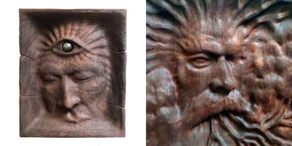 アマゾンの植物による「幻覚体験」を元にした木彫り作品を作るアーティスト /  超絶技巧だけどそこはかとなく不気味です…