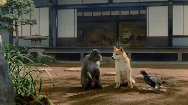 【au三太郎】契約更新したけど出番ない…犬、サル、キジが不満をこぼす姿が哀愁ただよいまくりの新CMが公開! 声はあの芸人さんたちだよ!!