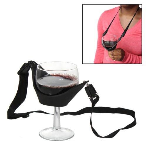 ワイン好きなら絶対にゲットしておきたい!? 両手がフリーになる「ワインネックレス」