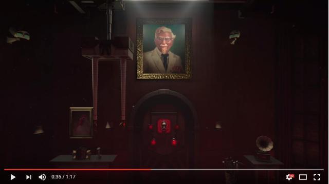KFCが従業員トレーニングのために作った「VR脱出ゲーム」がめちゃめちゃ不気味です!