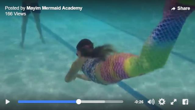 イギリスの「人魚になるための学校」がステキです / マーメイド気分で水中をす~いすい♪