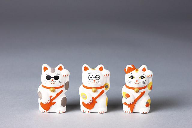 9月29日は「招き猫」の日! THE ALFEEメンバーをイメージし作られた招き猫が辛抱たまらんほど可愛いのです