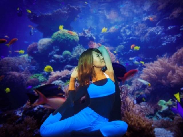 海の中にいるみたい! 人魚になった気分でヨガを楽しむ「マーメイドヨガ」で心まできれいになれそう