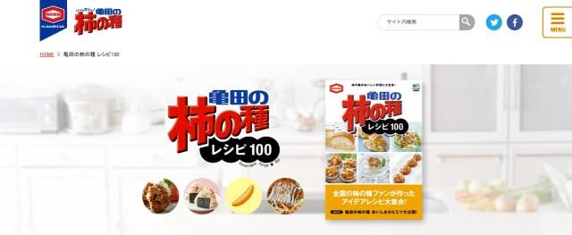「亀田の柿の種」公式レシピのインパクトがものすごい! オムレツの中に入れたり、カレーの具にしたり、アイスに添えたり…