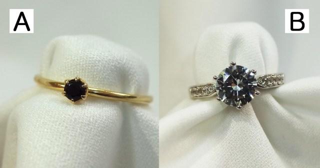 【クイズの時間】AとBの指輪、値段が高いのは……さてどっち?