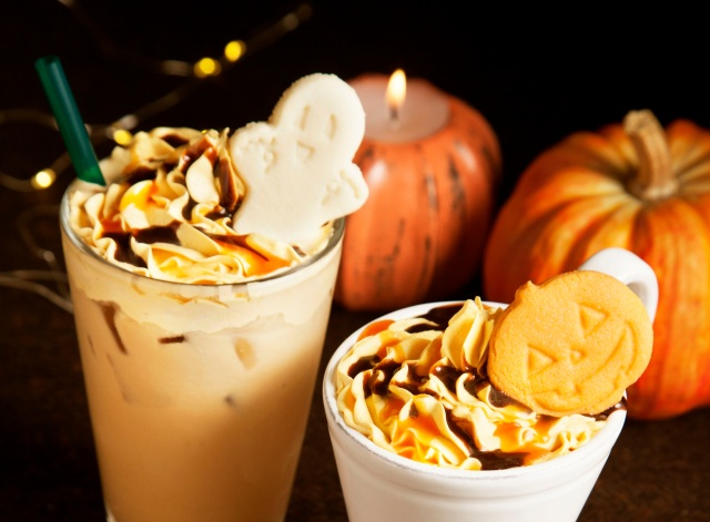 タリーズ新作は「ハロウィン」に染まる! おばけクッキーやかぼちゃクリームのトッピングがキュートだよ★