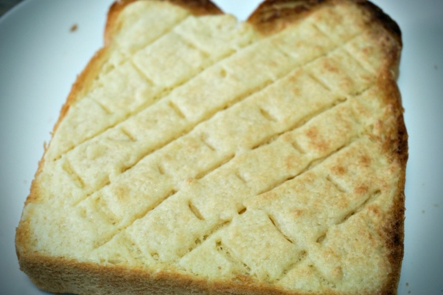 山パン直伝の「メロンパン風トースト」は食パン+材料3つで簡単にできて優しいお味だよ