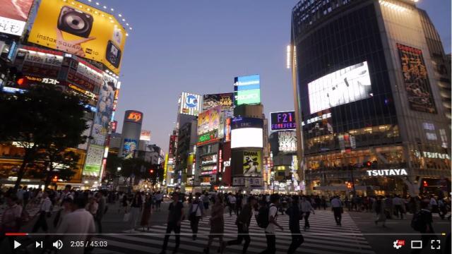 渋谷の街を45分散歩するだけの動画が海外で話題になってます 「ゴミが全然ない」「キレイですっきりした街だね」など日本人にはない視点ばかり