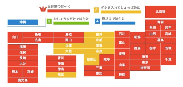 卵焼きは「甘い」「しょっぱい」どっちが好みか地域別でみたところ…関西ではしょっぱめが主流!? 関西人に聞いてみた
