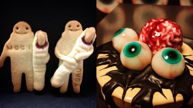 【閲覧注意】ホラーなお菓子屋さん「中西怪奇菓子工房。」の指クッキーや目玉ゼリーが超リアルです