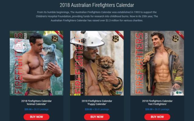【最&高】マッチョがキュートな動物と戯れる「イケメン消防士カレンダー」が今年も登場! 洗濯板みたいなシックスパックに上腕二頭筋が眼福すぎます