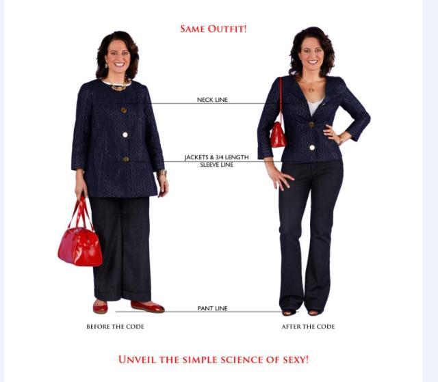 同じような洋服でも形が変わるとここまで違う! 「試着って大事!」と思えるビフォーアフター画像が衝撃的です