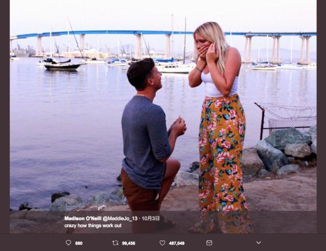 「明日、結婚式に行ってくれる人募集!」ツイッターでの冗談から交際がスタート→2年の交際を経て結婚へ! SNS時代ならではの恋物語を世界中が祝福♡