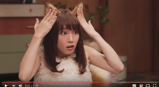 星野源&吉岡里帆出演の「日清どん兵衛」CMシリーズに新作が登場っ☆ どんぎつねの嫉妬で「耳」の秘密が明らかに…
