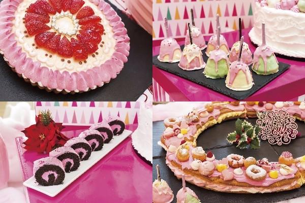 恋愛運がアップしそうなデザートビュッフェですと!? ヒルトン東京ベイでゆめかわピンクな「ピンク・クリスマス」が始まるよぉ~