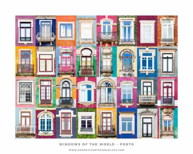 【世界のヲタク】「窓」が超大好なき男性が写真集を制作! ポルトガルの個性豊かな窓3200個が一堂に会す写真集です