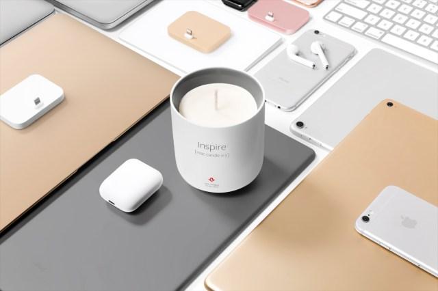 「新品のMacの匂いがするキャンドル」の第2弾がキタコレ! Appleファンなら試さずにはいられない「Inspire」が日本初上陸ですっ!