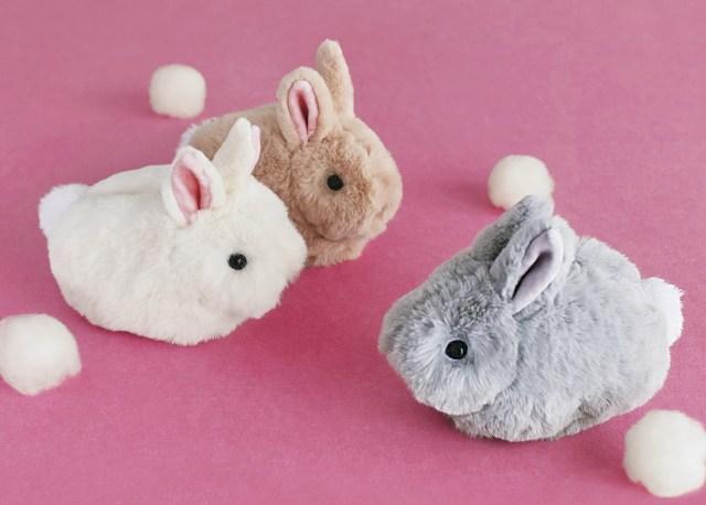 ずっとナデナデしていたぁ~い♪ 「ジャージーウーリー」の子ウサギがふわモフでふくよかボディなポーチになりました!