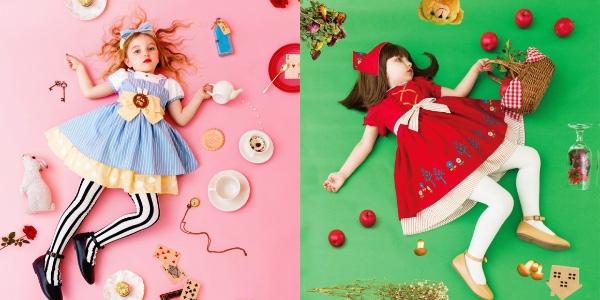 「おとぎ話コレクション」のワンピースが超かわいい!! アリスと赤ずきん、どっちになりきる?