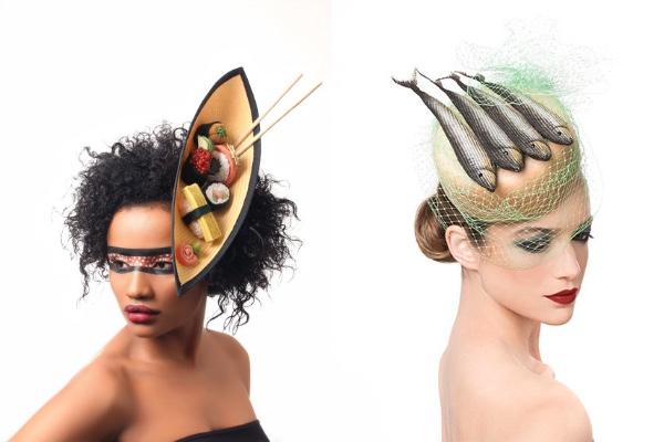 頭にお寿司や魚が…!! 衣装デザイナーが本気で考えた帽子がインパクト大です