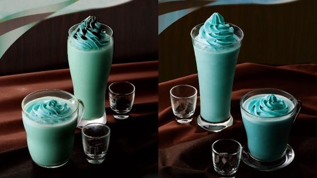 カフェ・ド・クリエからあったか〜いチョコミントが登場♡ あたたかいのにすっきりとしたクールな味わいなんだって♪