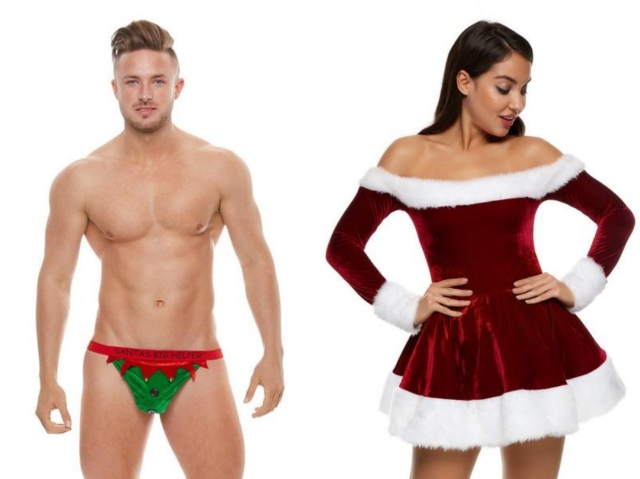 海外発「男性向けクリスマスランジェリー」が超攻めてる! 女性用はフツーに可愛いのに…なんで男性だけオモシロ要素多めなの!?
