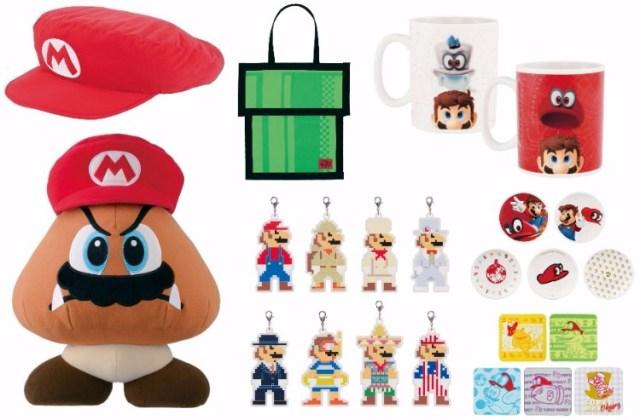 一番くじに「スーパーマリオ オデッセイ」が早くも登場ーっ! マリオの帽子クッションや土管デザインのトートバッグなどが当たるよ♪