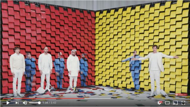 振り付けはMIKIKO先生! 海外バンド『OK Go』の新作MVは「ペーパーマッピング」制作のウラ側が公式インスタで公開中です