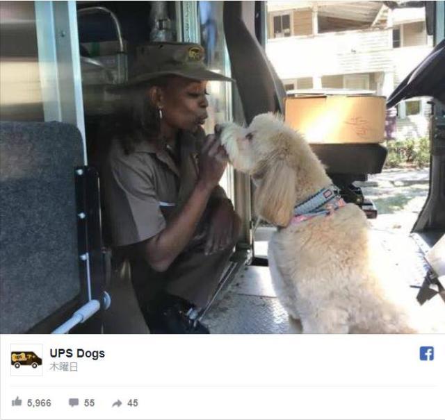 配達員さんと配達先のワンコは相思相愛♡ 犬好きの配達員たちが運営するSNSアカウント「UPS Dogs」