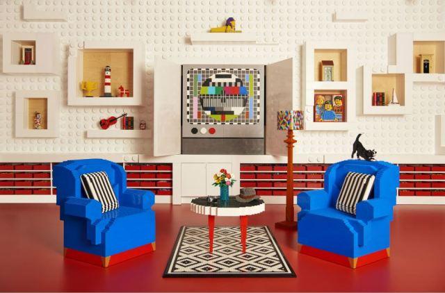 うっかりスリッパ脱げない…家具までレゴでできた「LEGOハウス」に泊まれる夢企画がスタートしたよっ!!!
