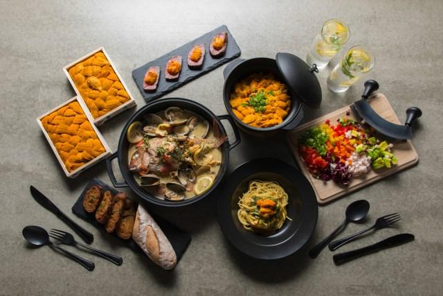 ウニを存分に楽しめるウニ料理専門店「UNIHOLIC」が美味しやばそうおおお! 前菜からメイン、ご飯までひたすらウニ祭りです