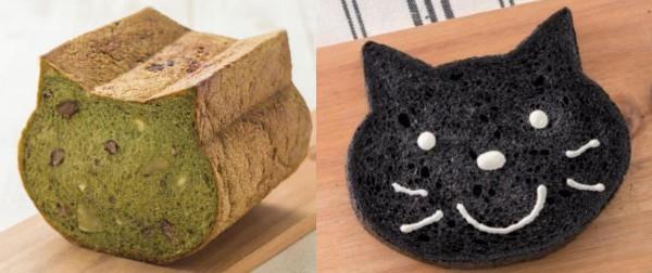 超かわいい猫型食パン「いろねこ食パン」に新作がキタァー!!! ほろ苦い抹茶味もいいけど竹炭パウダー入りの黒猫もめちゃイイね♪