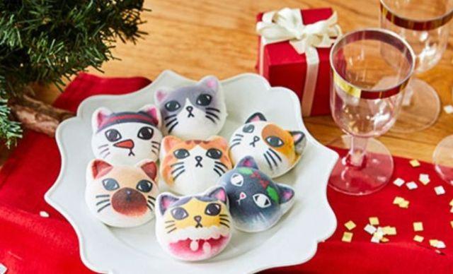 今年も「ニャシュマロ」のクリスマスバージョンが登場したよっ! ぷにぷにニャンコのマシュマロはプレゼントにもぴったりニャ♪