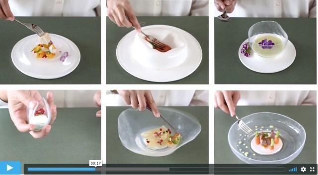 「ぷるぷる」揺れるお皿が不思議! 食器もエンターテイメント性を求められる時代に突入したようです