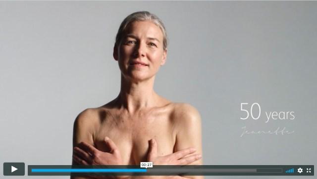 """「美しさとは?」0歳から100歳の女性が登場する海外のスキンケアCM / 100歳の女性が見せる""""何かを悟った"""" かのような視線に惹きつけられます"""