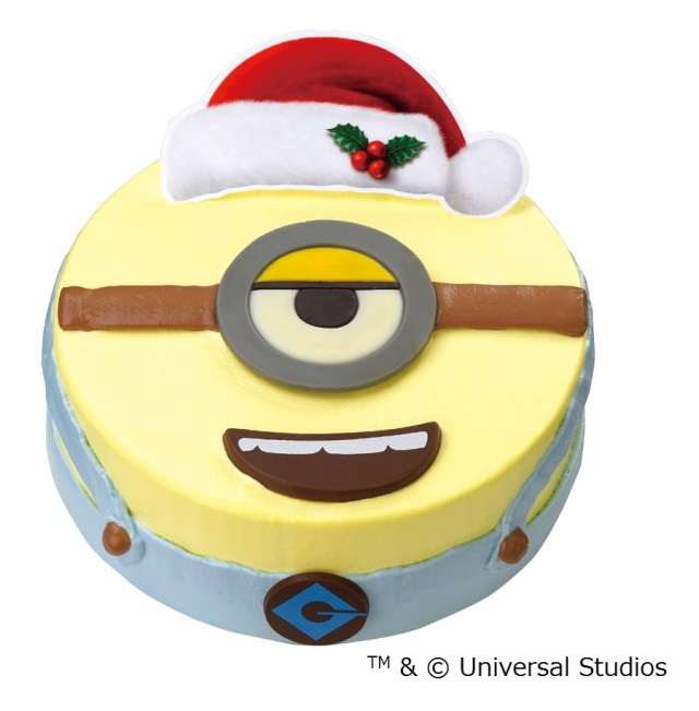 ミニオンの顔がまるごとアイスクリームケーキに! 今年のクリスマスはサーティワンのコレに決~めた!?