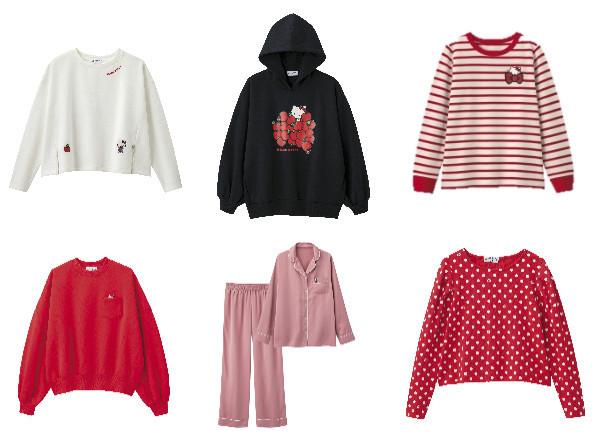 ジーユーの「ハローキティ」コラボがレトロかわいい♡ 人気のパジャマやスウェットなどずらりと大集合だよ〜