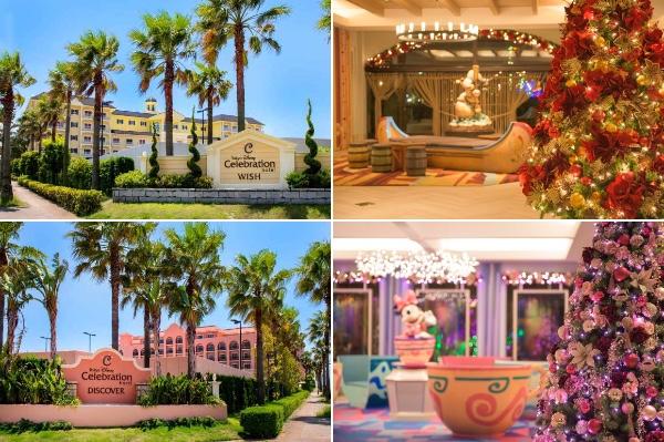 【クリスマス】東京ディズニーセレブレーションホテルの2棟にタイプの違うツリーとリースがお目見え☆ ロマンチックが止まりませ~ん!