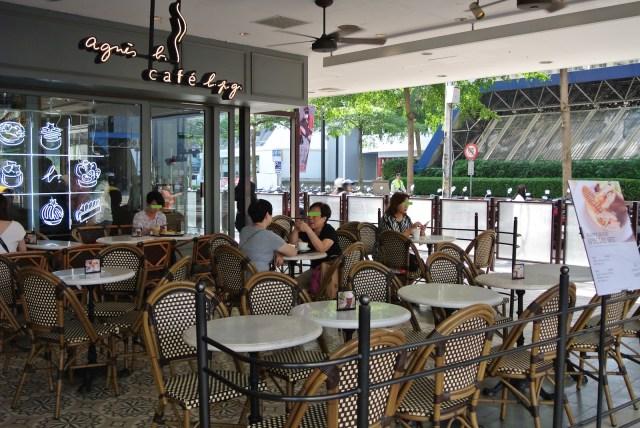 【レアグルメ】台湾と香港限定「agnis.b(アニエスベー)」のカフェに行ってみた / 台湾マダムと高級スイーツがすごかった…