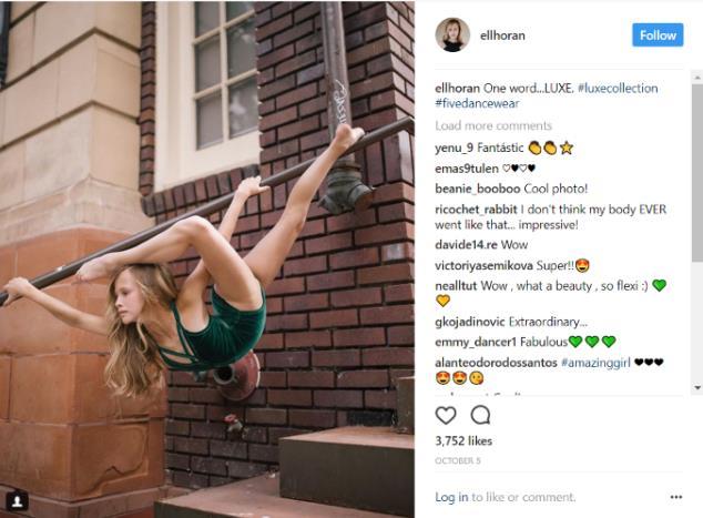 13歳バレエ少女が息をのむ美しさ…重力無視で手すりに絡みついてポーズ&ダンス姿も圧巻です