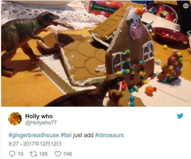 クリスマスだから「お菓子の家」を作るぞ → 大失敗したあとの「言い訳ツイート」が海外で流行中です
