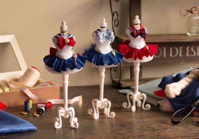 【これは欲しい】「美少女戦士セーラームーン」のコスチュームがミニチュアドレスに! こだわりの詰まった美しくて華麗な仕上がりにうっとり