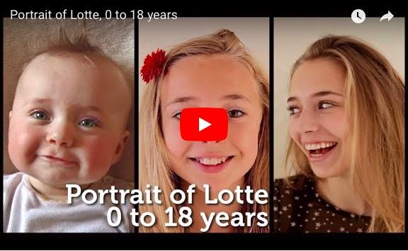 美少女の0歳から18歳までの成長をタイムラプス映像に! 笑った日も泣いた日も、ぜ~んぶ大切な宝物だと思えます