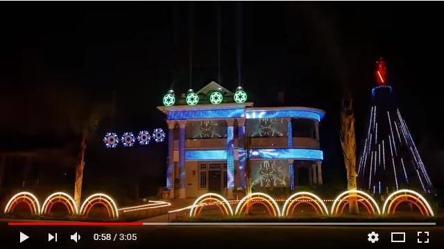 「帝国のマーチ」に合わせて家が光り輝く! アメリカの電飾ハウスが個人宅のレベルを超えてて笑うしかない